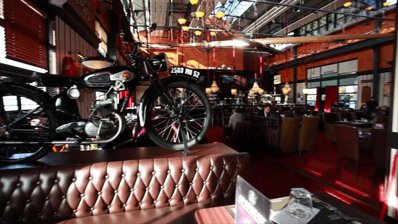 Restaurant au bureau rouen rouen en vid o for O bureau restaurant