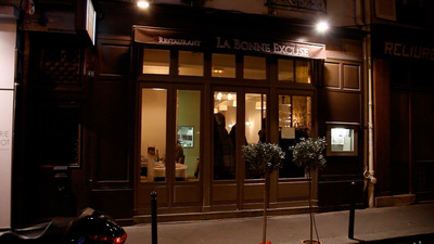 Restaurant La Bonne Excuse Paris