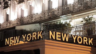 Restaurant New York New York Cannes