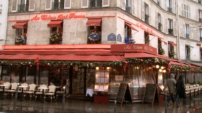 Restaurant Au chien qui Fume Paris