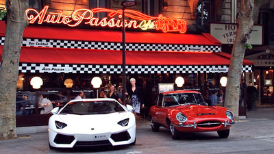 Restaurant Auto passion Café Paris