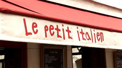 Restaurant Le Petit Italien Paris
