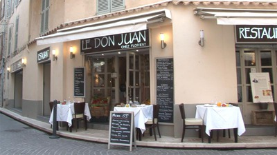 Restaurant Le Don Juan Antibes
