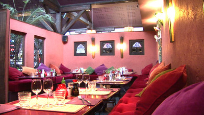 Restaurant Rouge Tendance Lyon