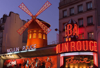 Restaurant Le Moulin Rouge Paris