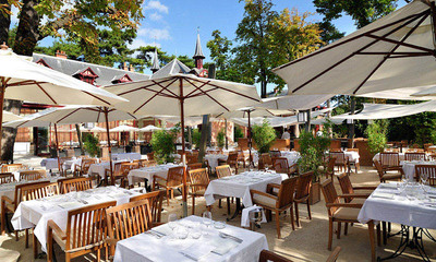 Restaurant Jardins de Bagatelle Paris
