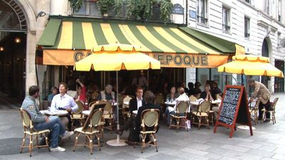 Restaurant Le Caf de l'Epoque Paris