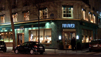 Restaurant Prunier Paris
